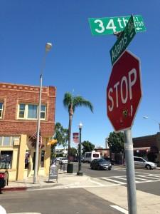 Adams Avenue, I Heart 92116, Normal Heights, San Diego
