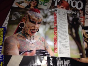 This issue of Savage Tattoo magazine was sold between 6/2015-7-2015