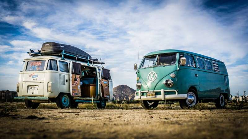 On a VW Bus south of the border - Mike MadriagaMike Madriaga